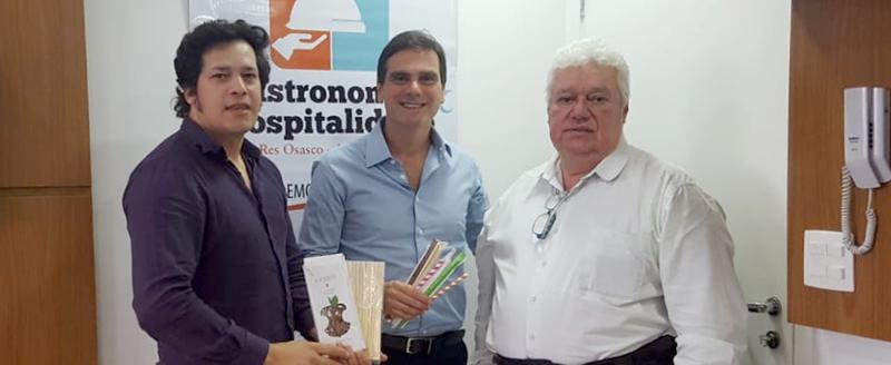 Presidente Edson Pinto se reúne com representantes da empresa Torex