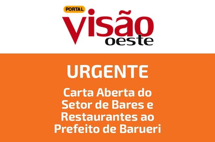 SinHoRes na Mídia: Portal Visão Oeste publica carta aberta do SinHoRes ao prefeito de Barueri