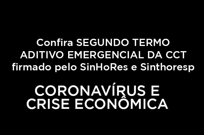SinHoRes Osasco – Alphaville e Região fecha acordo para Segundo Termo Aditivo - COVID - 19