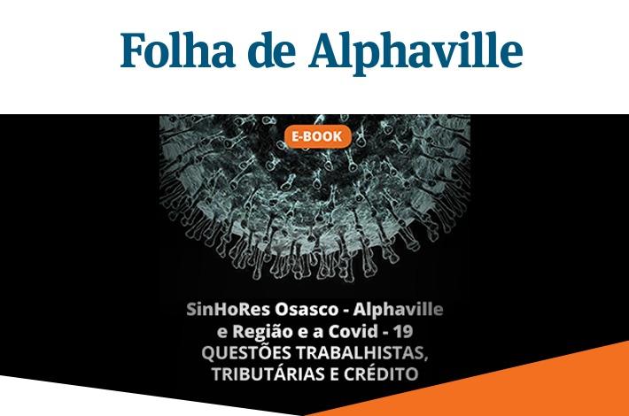 SinHoRes na Mídia: jornal Folha de Alphaville destaca e-book lançado pelo SinHoRes
