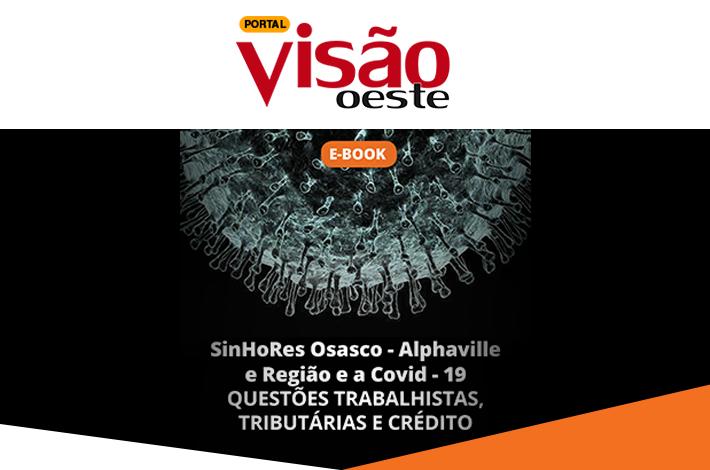 SinHoRes na Mídia: Portal Visão Oeste destaca e-book lançado pelo SinHoRes