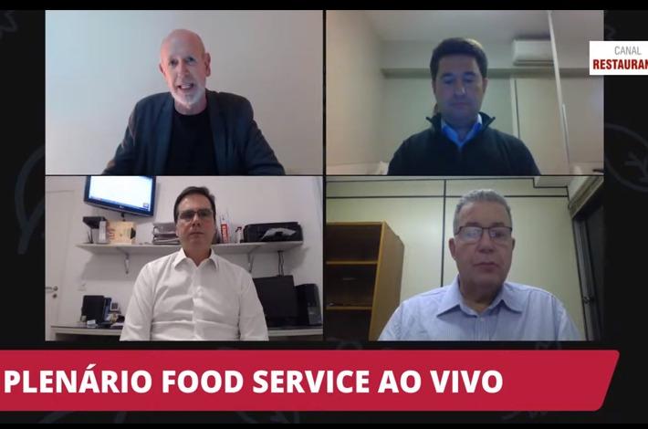 Presidente Edson Pinto participa de estreia do programa Plenário Food Service