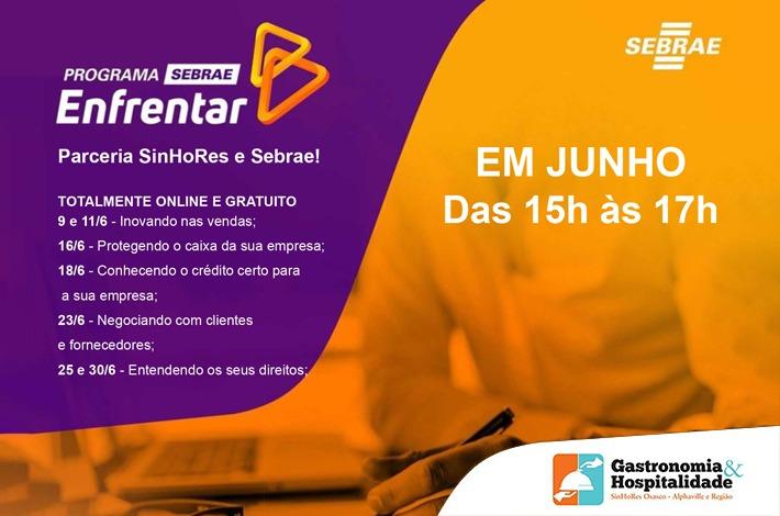 SinHoRes e SEBRAE lançam programa para ajudar empresas durante a crise