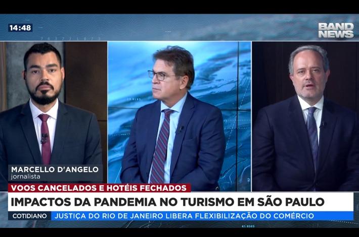 Vinicius Lummertz cita presidente Edson Pinto como interlocutor do governo durante tratativas para reabertura
