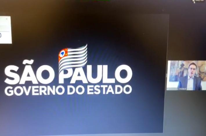 Em reunião com governador João Dória, Edson Pinto solicita reenquadramento do setor na Fase 2 de reabertura