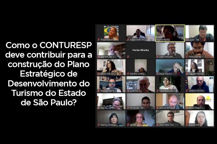 Edson Pinto participa de Oficina de Planejamento para Retomada do Turismo do Estado de São Paulo