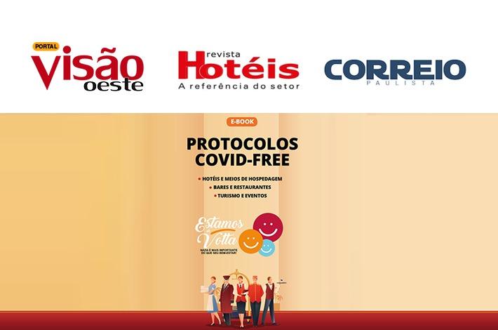 SinHoRes na Mídia: e-book Protocolos Covid-Free ganha destaque em diversos veículos