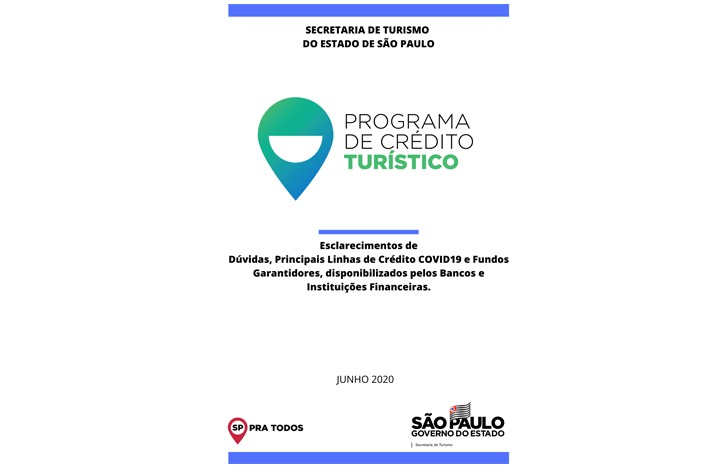 Confira material da SETUR sobre o Programa de Crédito Turístico