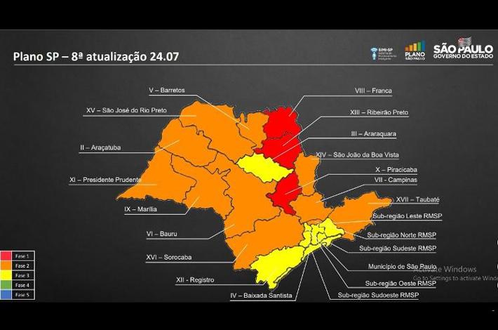 COMUNICADO: Governador de SP anuncia nova quarentena no estado, mas cidades da base do SinHoRes permanecem na Fase 3 – Amarela de reabertura