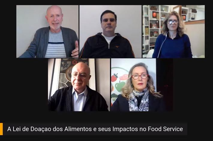 Em live realizada pela TV SinHoRes, deputado federal Arnaldo Jardim e especialistas discutem Lei de Doação de Alimentos