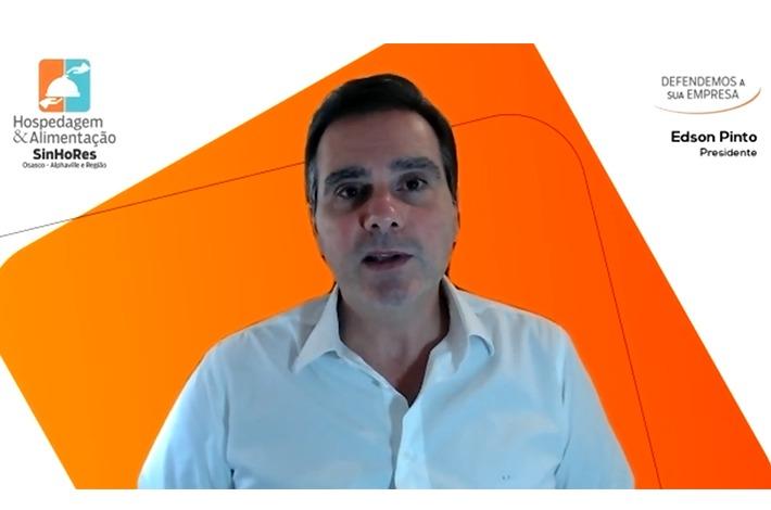 Edson Pinto concede entrevista à Alpha Channel News
