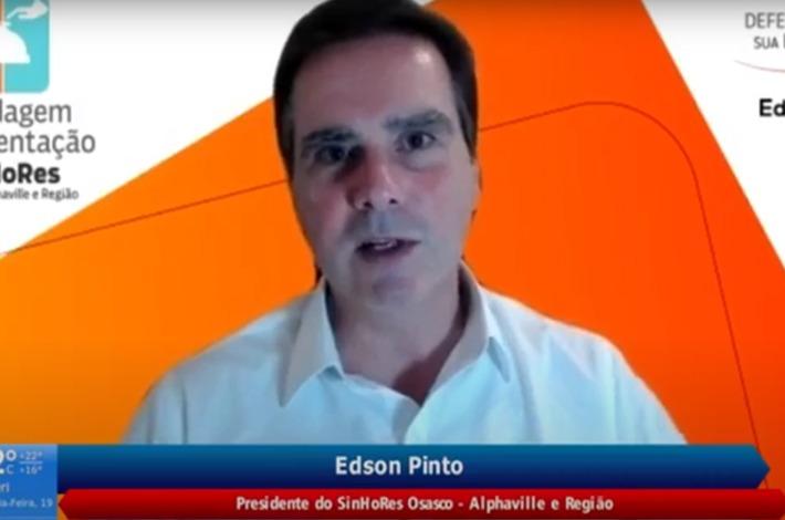 Em entrevista ao GIRO NOITE, Edson Pinto fala sobre o impacto da pandemia para o setor