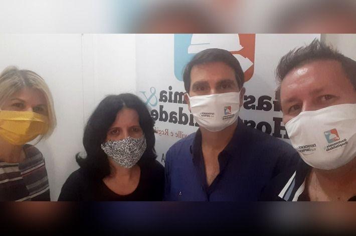 Equipe do SinHoRes faz avaliação das ações do sindicato no período da pandemia
