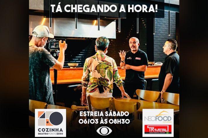Parceira do SinHoRes, NEOFOOD Estreia neste Sábado no Programa Cozinha 4.0, na Band