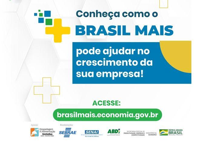 SinHoRes Osasco – Alphaville e Região apoia Brasil Mais, programa de incentivo às empresas brasileiras. Participe!