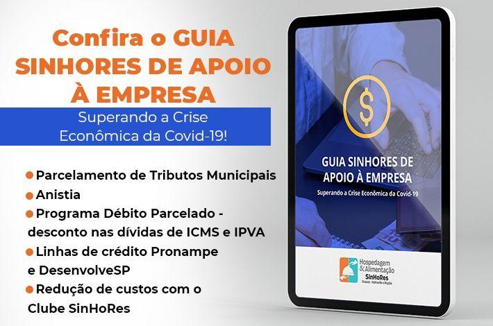 SinHoRes Osasco – Alphaville e Região elabora guia para ajudar empresas a superar crise econômica