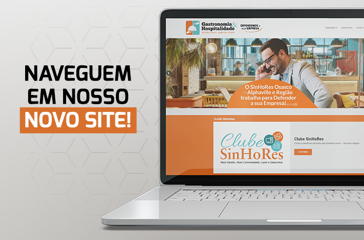 NOVO SITE DO SINHORES ESTÁ NO AR!
