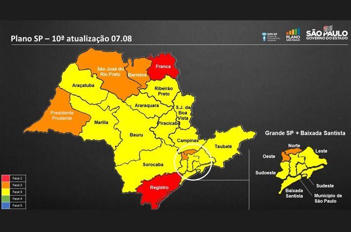 Reclassificação das cidades da região na Fase Laranja surpreende prefeitos e empresários