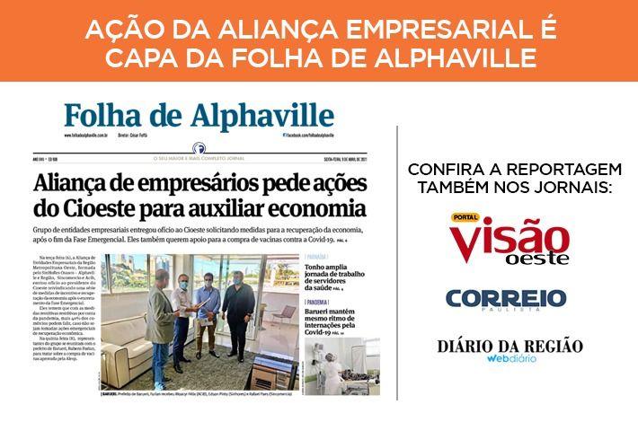 SinHoRes na Mídia: confira a repercussão da ação da ALIANÇA Empresarial com foco nas medidas de incentivo e recuperação da economia