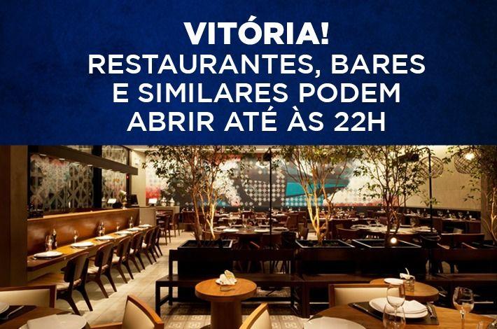 VITÓRIA! Após ação do SinHoRes Osasco – Alphaville e Região, restaurantes podem abrir até às 22h